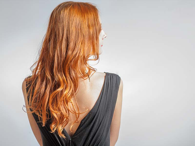 Gorgeous salon hair color styling