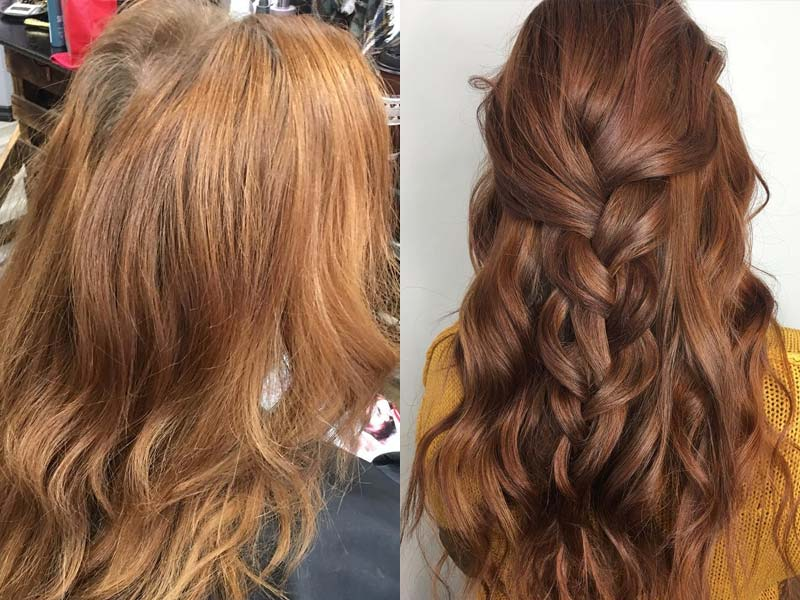 Hair extensions and hair color Martensville