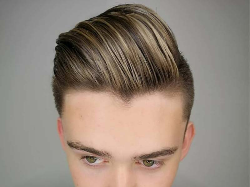 Hair highlights for men