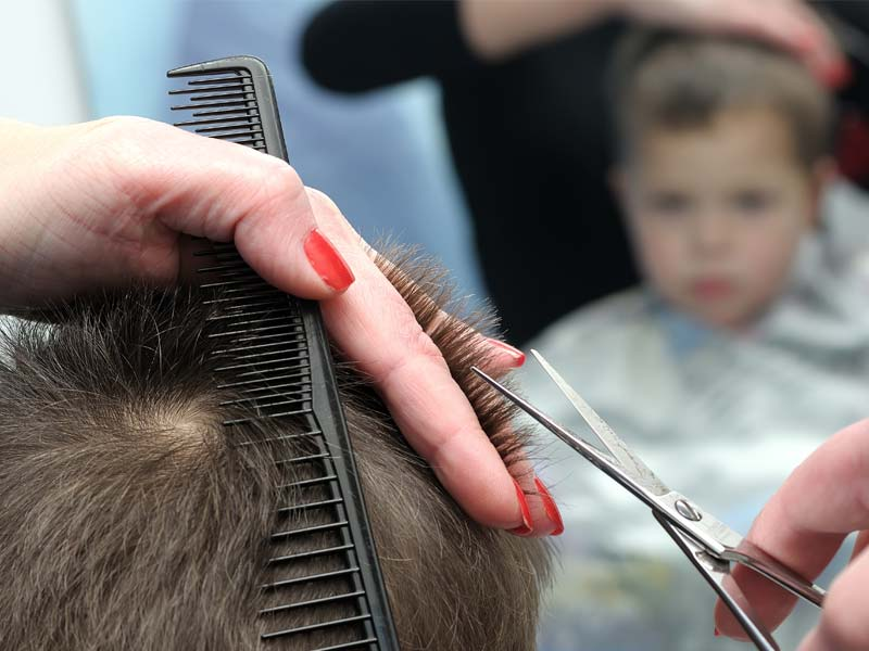 Haircuts for kids Saskatoon
