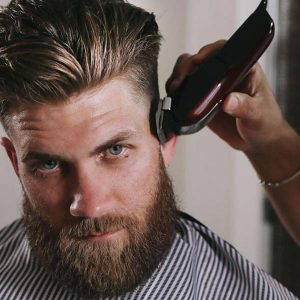 Saskatoon beard trim and cut